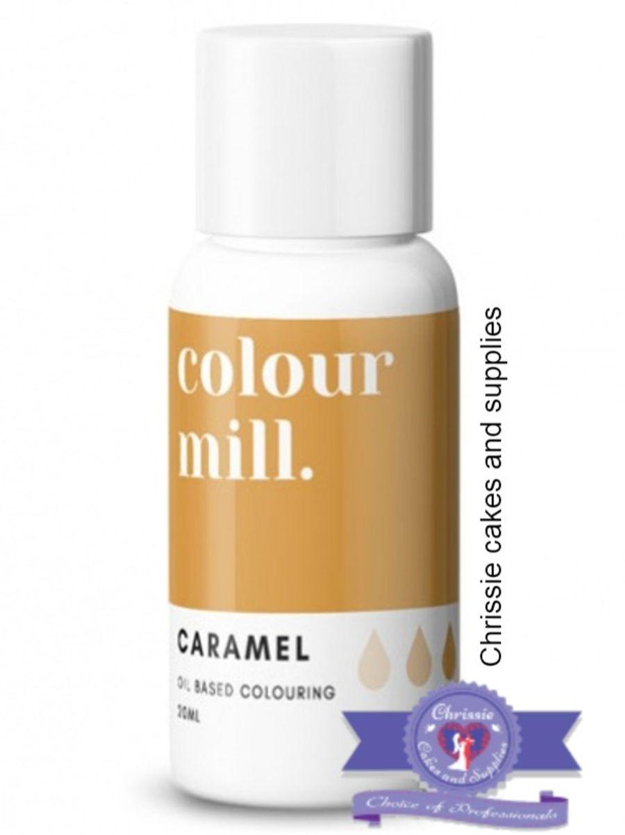 COLOUR MILL - OIL BASED COLOUR - CARAMEL 20ML