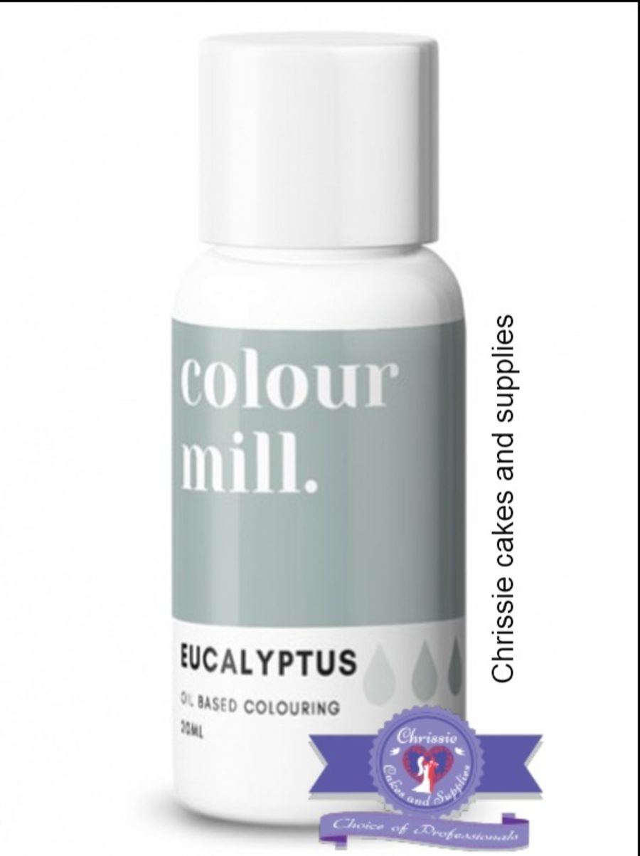 COLOUR MILL - OIL BASED COLOUR - EUCALYPTUS 20ML