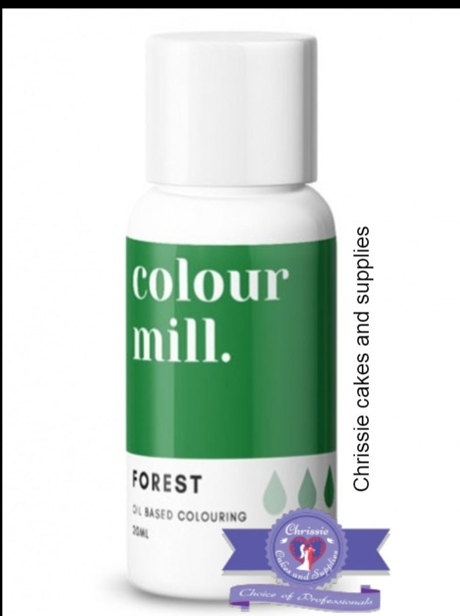 COLOUR MILL - OIL BASED COLOUR - FOREST GREEN 20ML