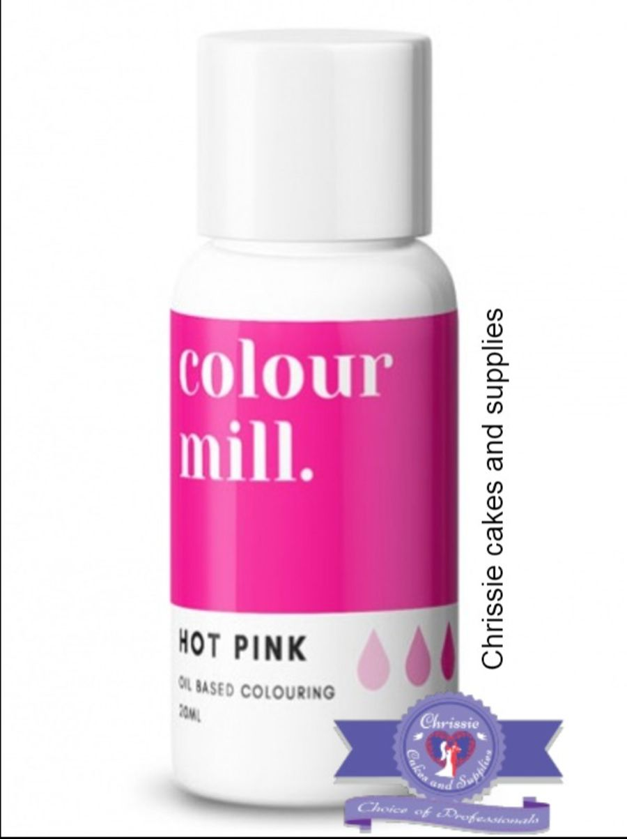 COLOUR MILL - OIL BASED COLOUR - HOT PINK 20ML