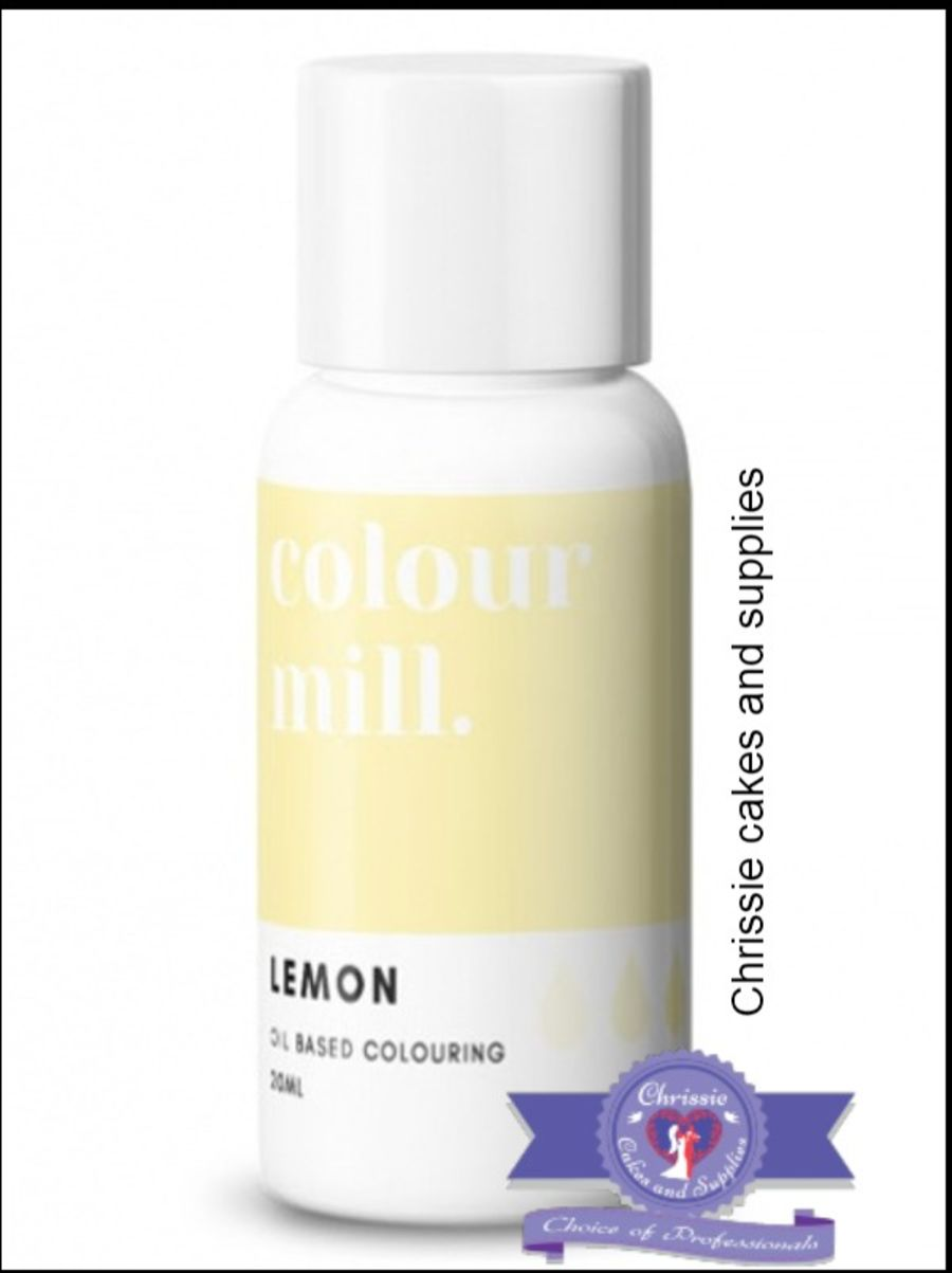 COLOUR MILL - OIL BASED COLOUR - LEMON 20ML