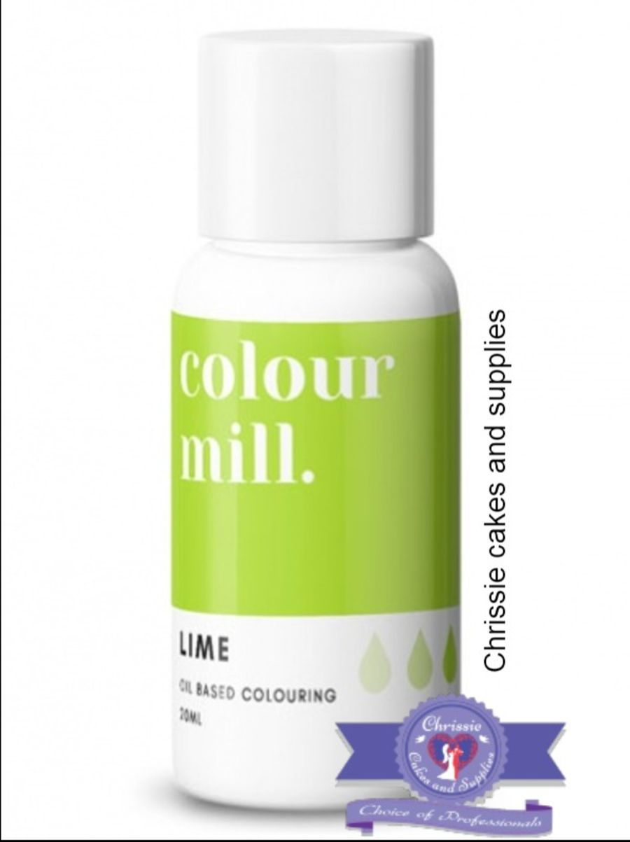 COLOUR MILL - OIL BASED COLOUR - LIME GREEN 20ML