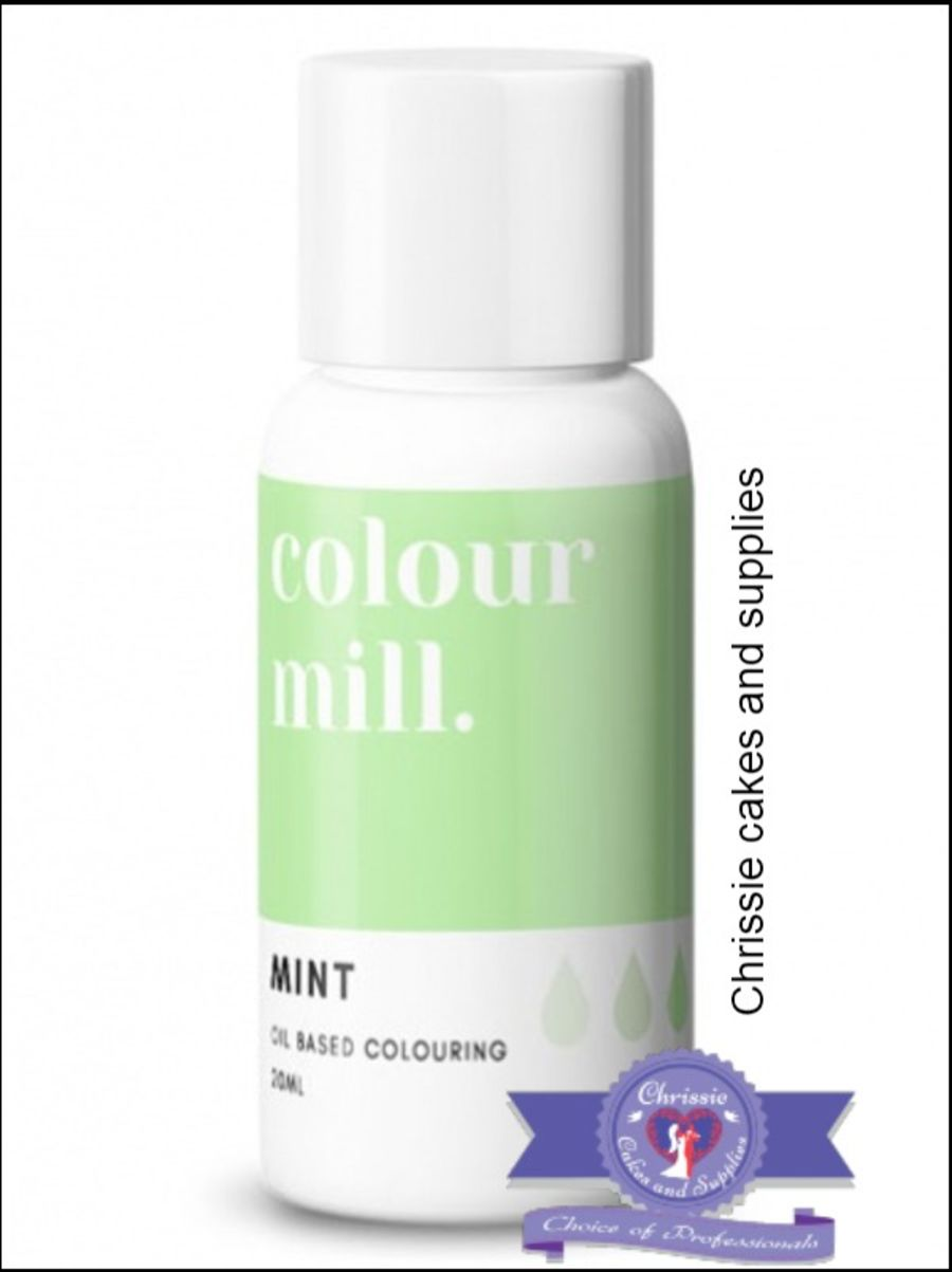 COLOUR MILL - OIL BASED COLOUR - MINT 20ML