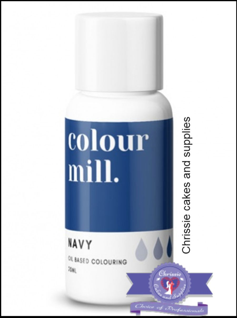 COLOUR MILL - OIL BASED COLOUR - NAVY 20ML