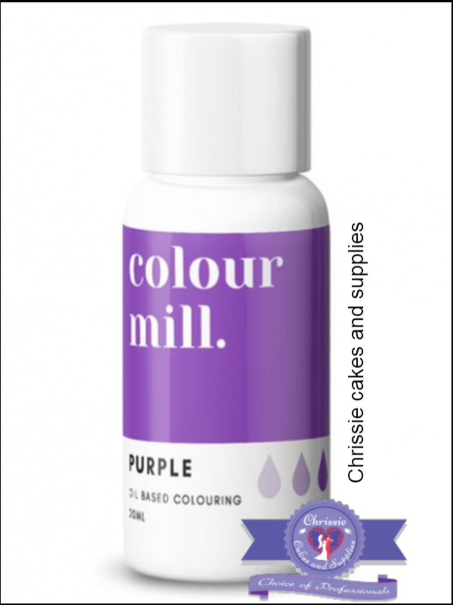 COLOUR MILL - OIL BASED COLOUR - PURPLE 20ML