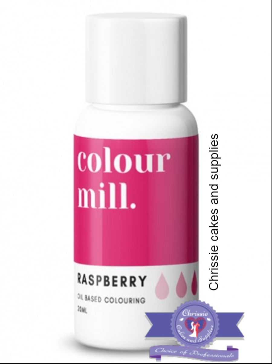 COLOUR MILL - OIL BASED COLOUR - RASPBERRY 20ML