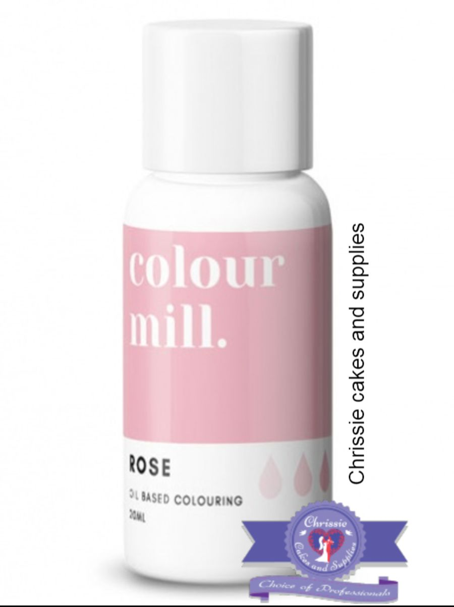 COLOUR MILL - OIL BASED COLOUR - ROSE 20ML