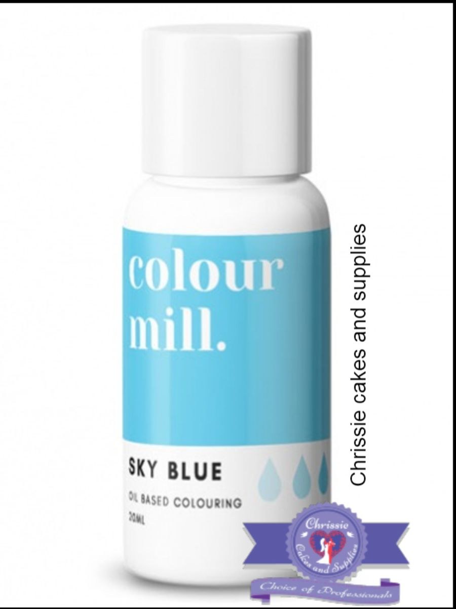 COLOUR MILL - OIL BASED COLOUR - SKY BLUE 20ML