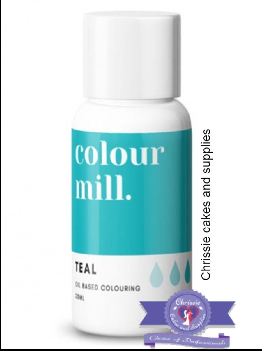COLOUR MILL - OIL BASED COLOUR - TEAL 20ML