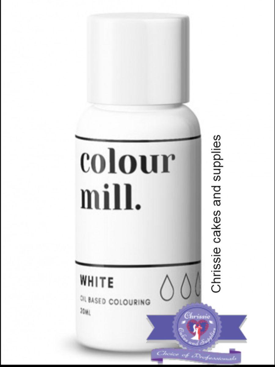 COLOUR MILL - OIL BASED COLOUR - WHITE 20ML