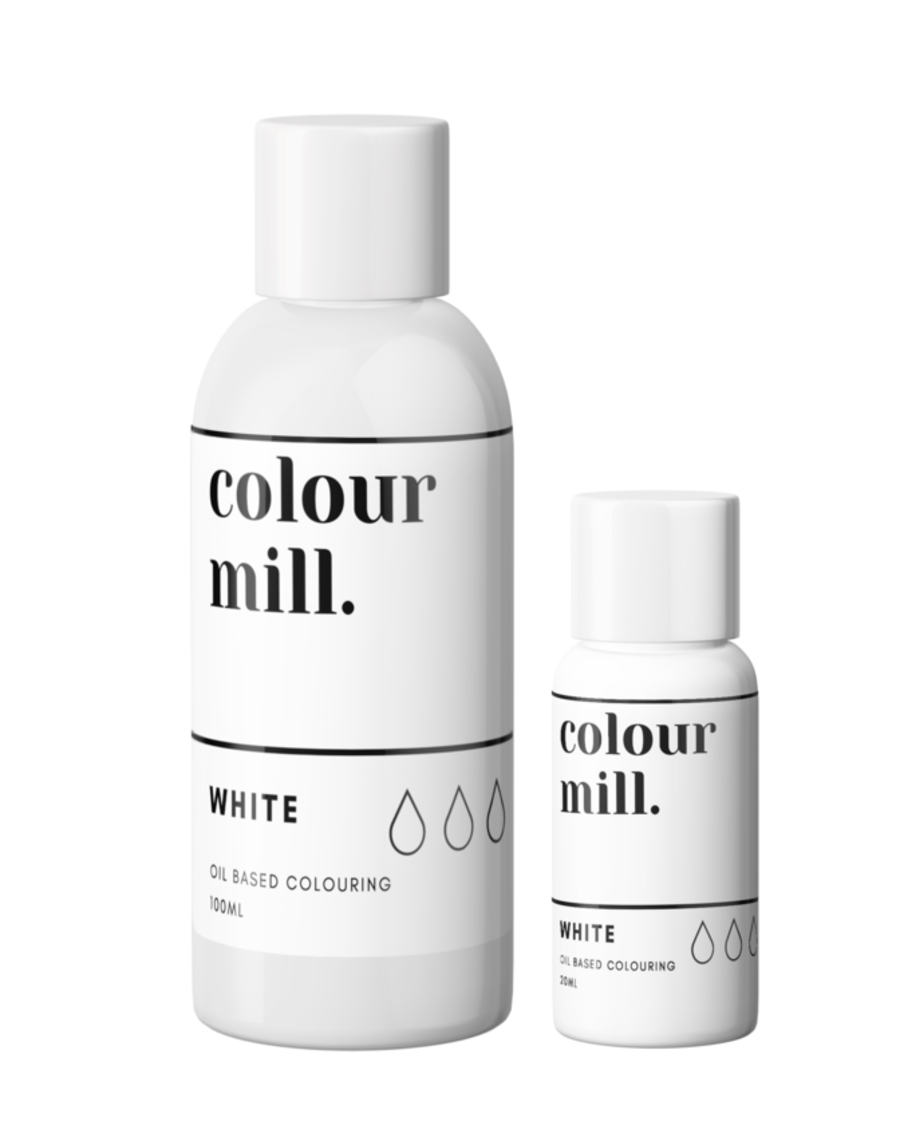 COLOUR MILL - OIL BASED COLOUR - WHITE 100ML