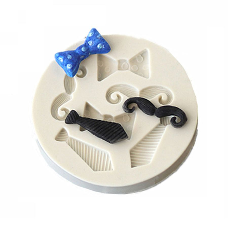 Moustache and Tie Mould