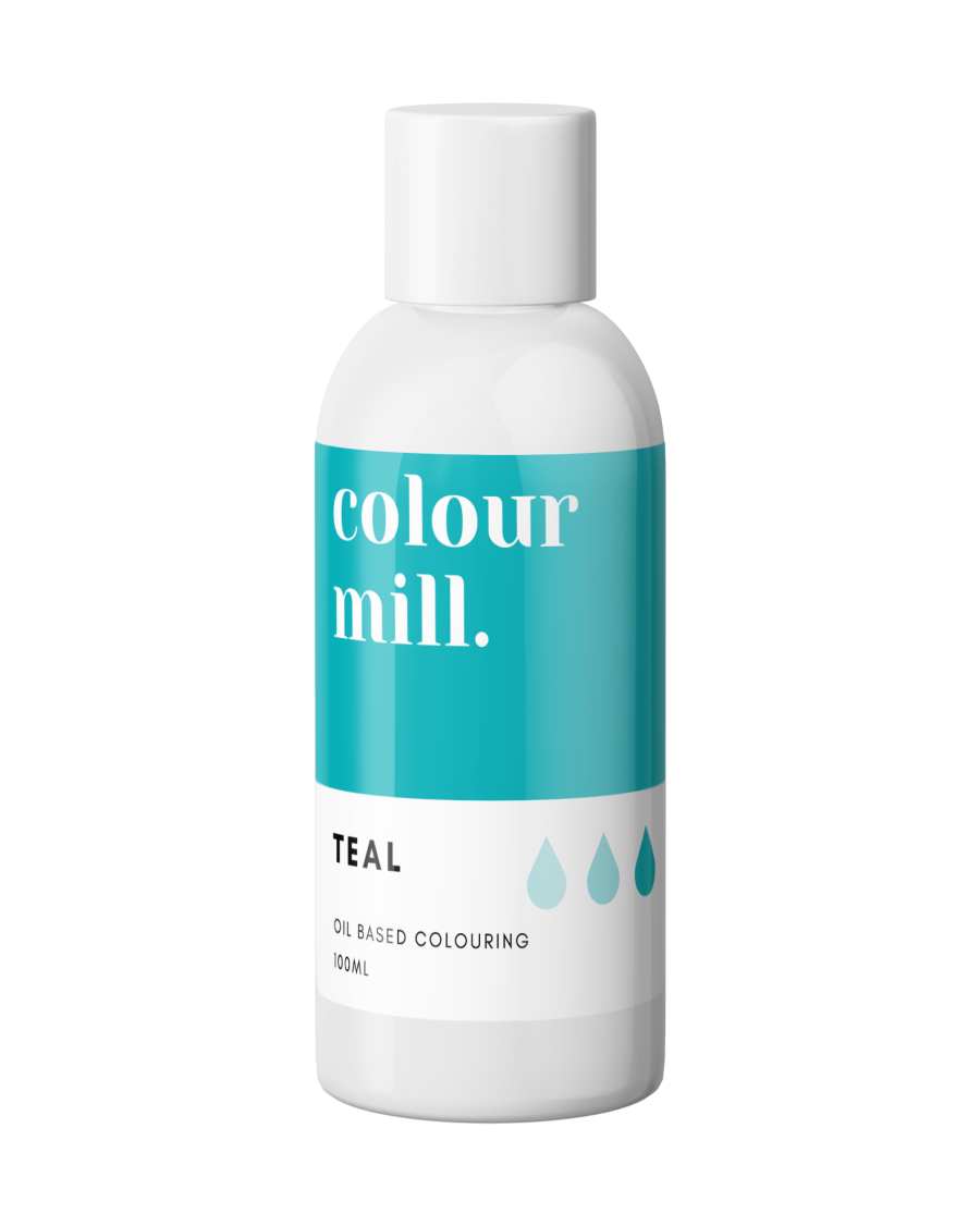 COLOUR MILL - OIL BASED COLOUR - TEAL 100ml