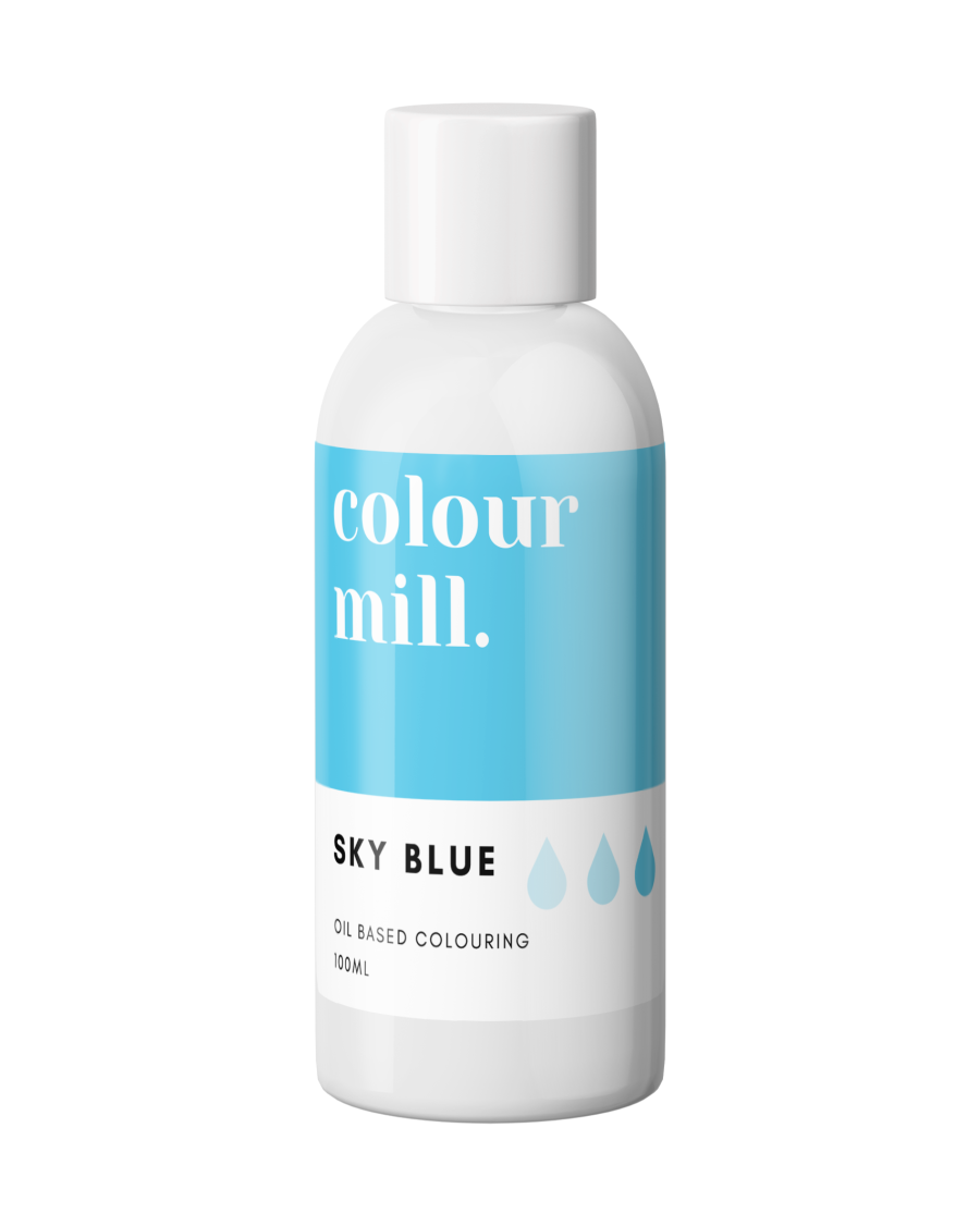 COLOUR MILL - OIL BASED COLOUR - SKY BLUE 100ml