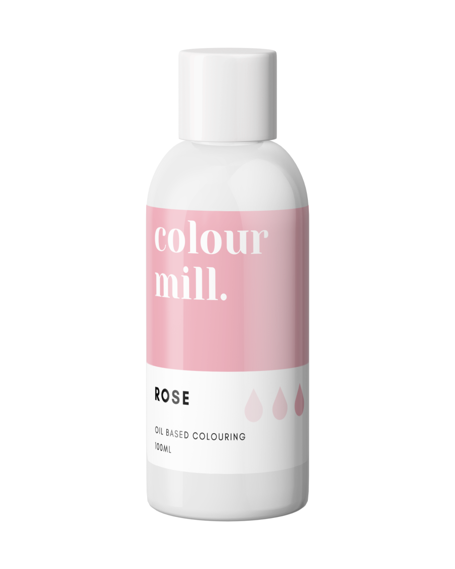 COLOUR MILL - OIL BASED COLOUR - ROSE 100ML