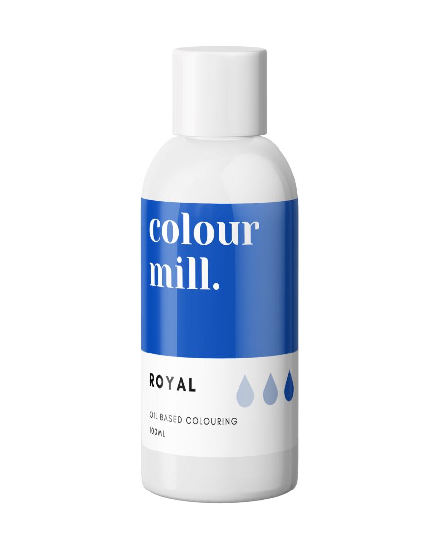 COLOUR MILL - OIL BASED COLOUR - ROYAL BLUE 100ML