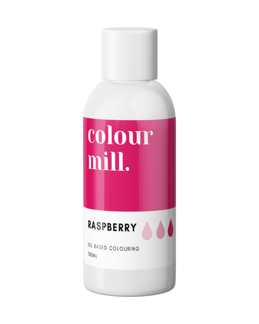 COLOUR MILL - OIL BASED COLOUR - RASPBERRY 100ML