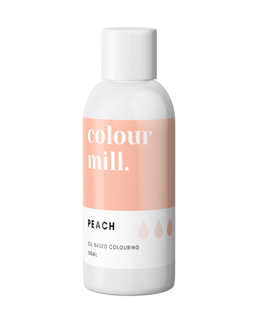 COLOUR MILL - OIL BASED COLOUR - PEACH 100ML