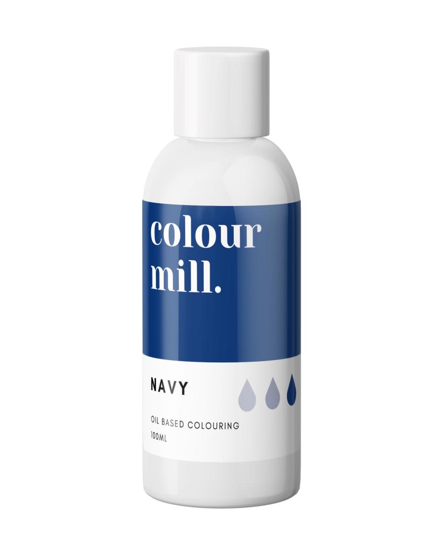 COLOUR MILL - OIL BASED COLOUR - NAVY 100ML