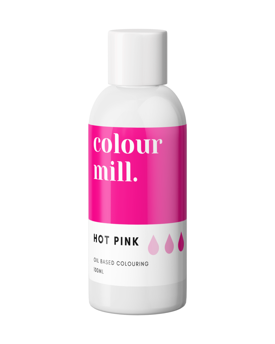 COLOUR MILL - OIL BASED COLOUR - HOT PINK 100ML