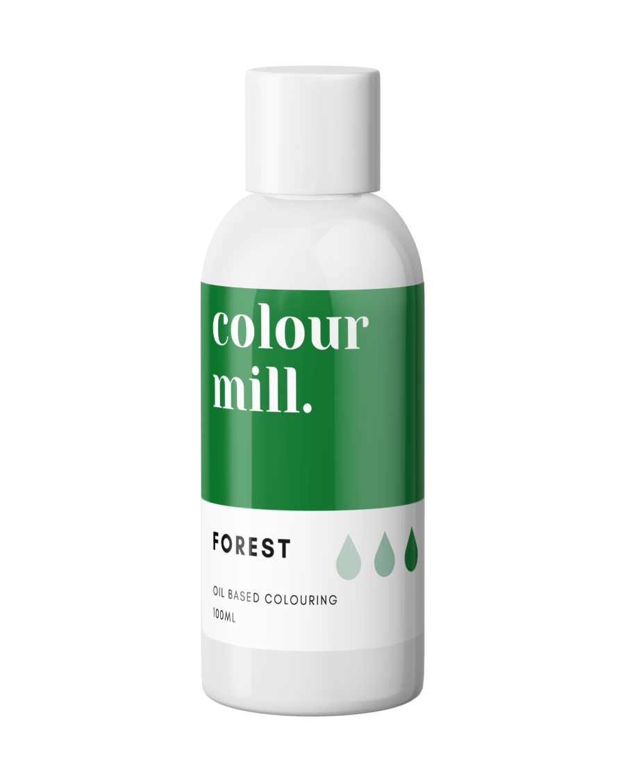 COLOUR MILL - OIL BASED COLOUR - FOREST GREEN 100ML