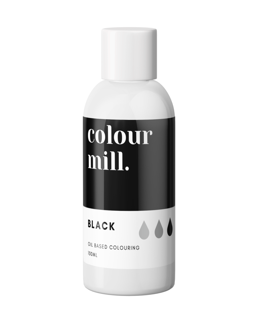 COLOUR MILL - OIL BASED COLOUR - BLACK 100ML