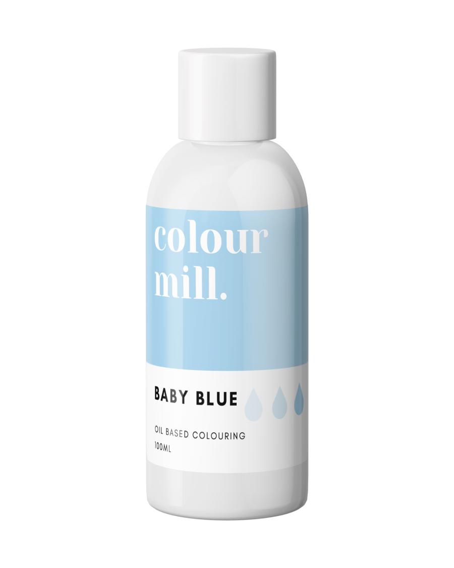 COLOUR MILL - OIL BASED COLOUR - BABY BLUE 100ML