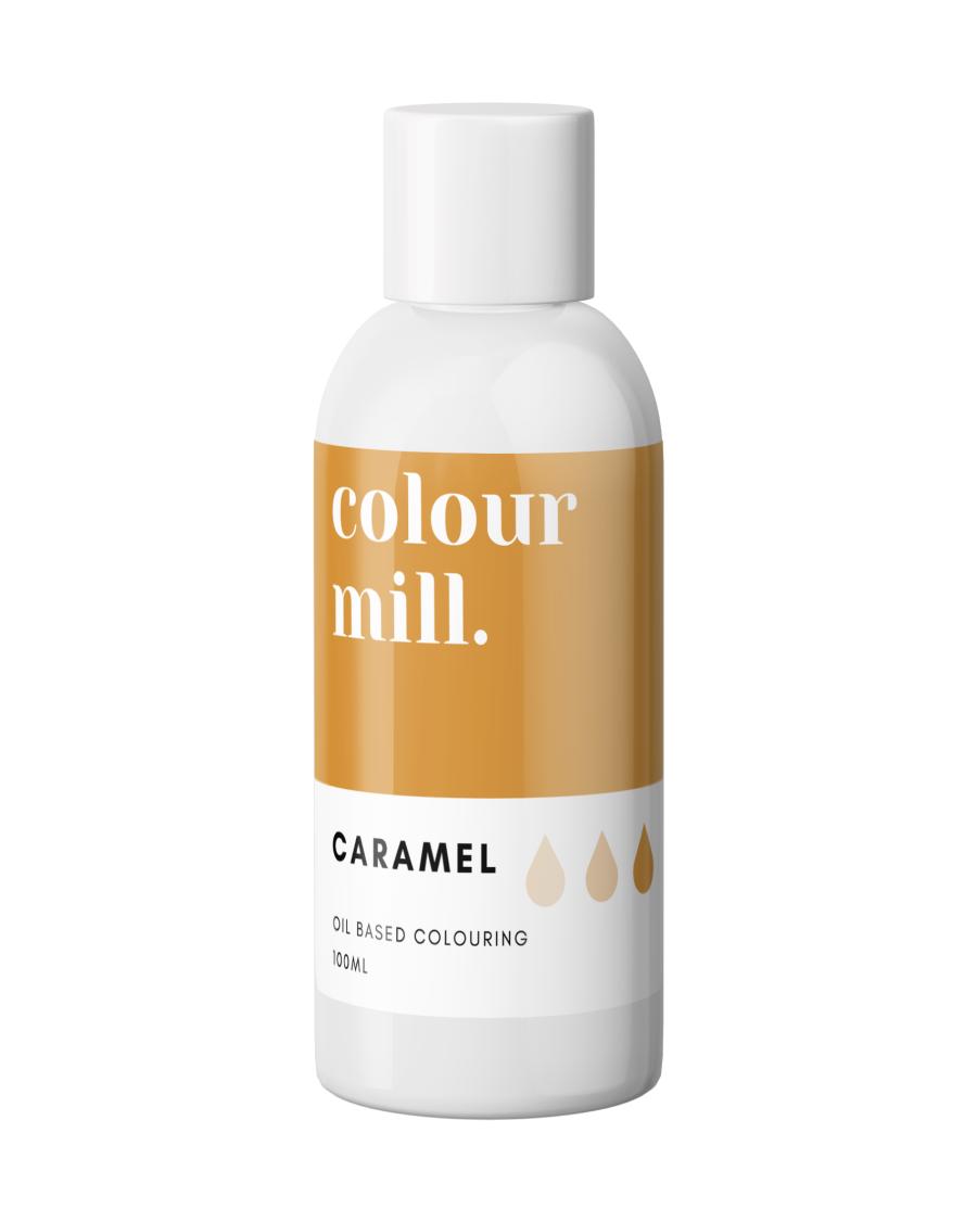 COLOUR MILL - OIL BASED COLOUR - CARAMEL 100ML