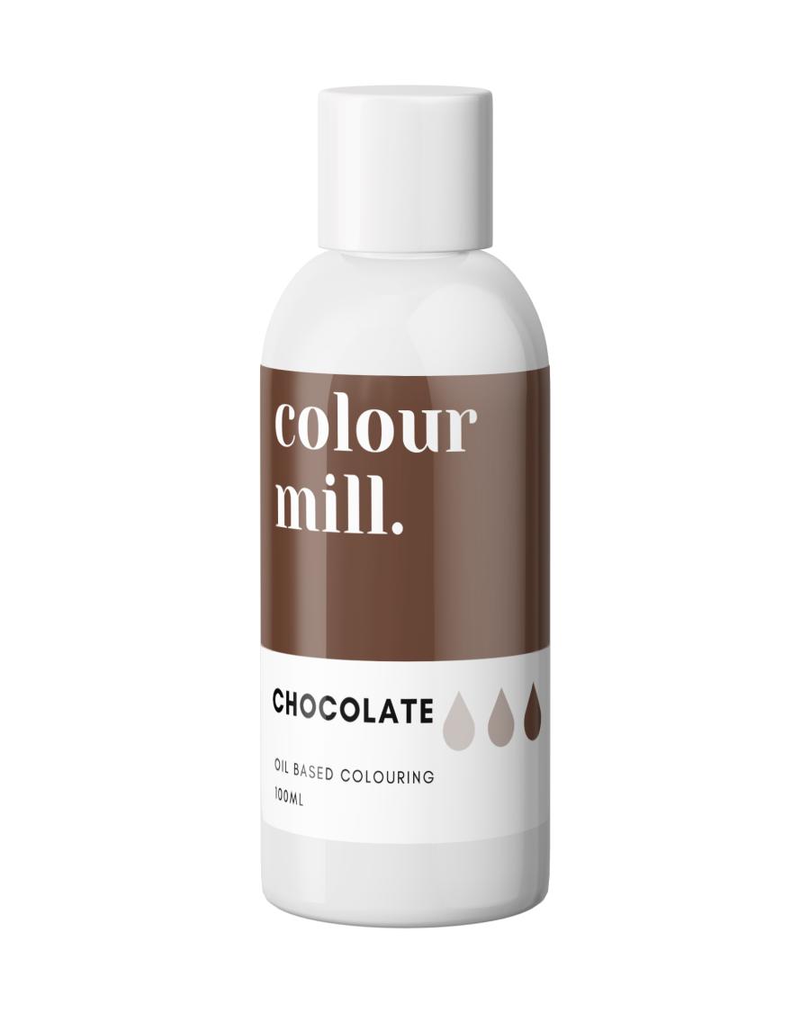 COLOUR MILL - OIL BASED COLOUR - CHOCOLATE 100ML