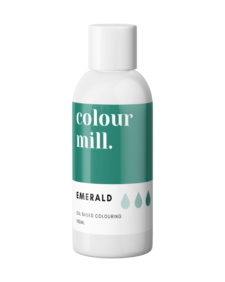 COLOUR MILL - OIL BASED COLOUR - EMERALD GREEN 100ML