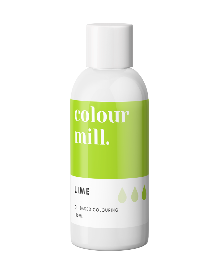 COLOUR MILL - OIL BASED COLOUR - LIME GREEN 100ML