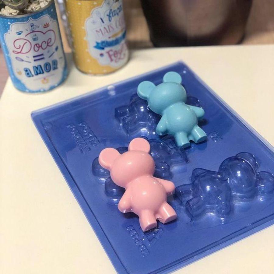 Baby Teddy Bear 3 Part Chocolate Mould - PFM 63 BWB 9935