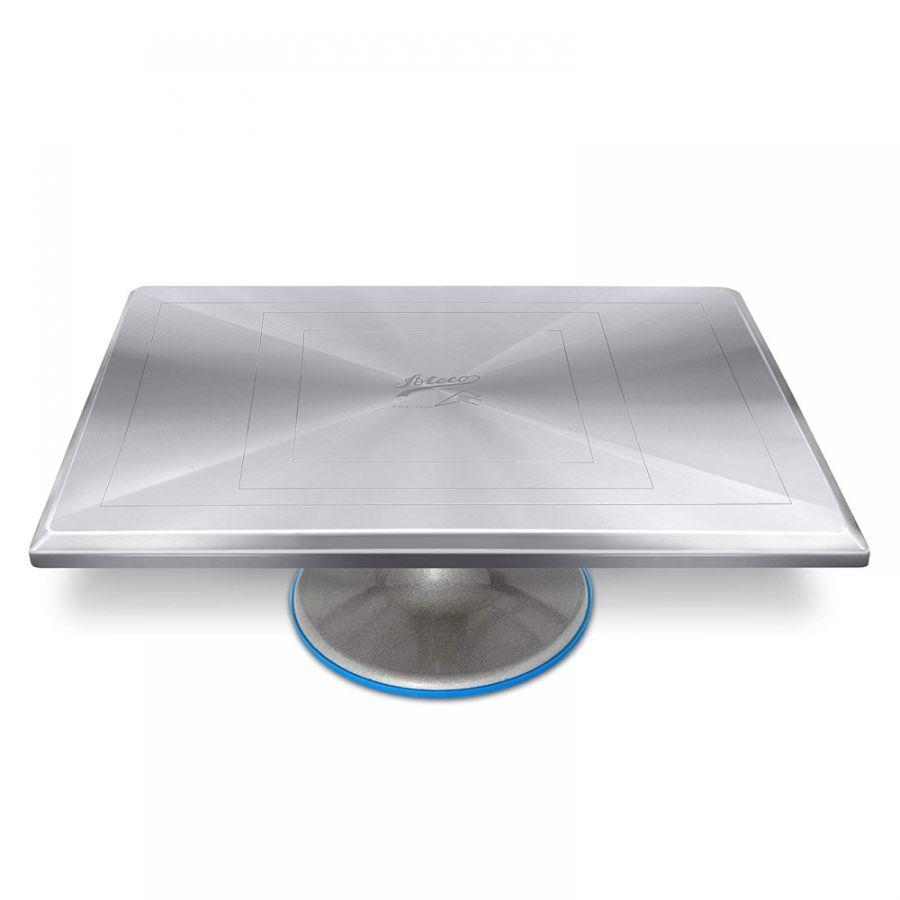 ATECO Aluminimum Turntable with Rectangular top