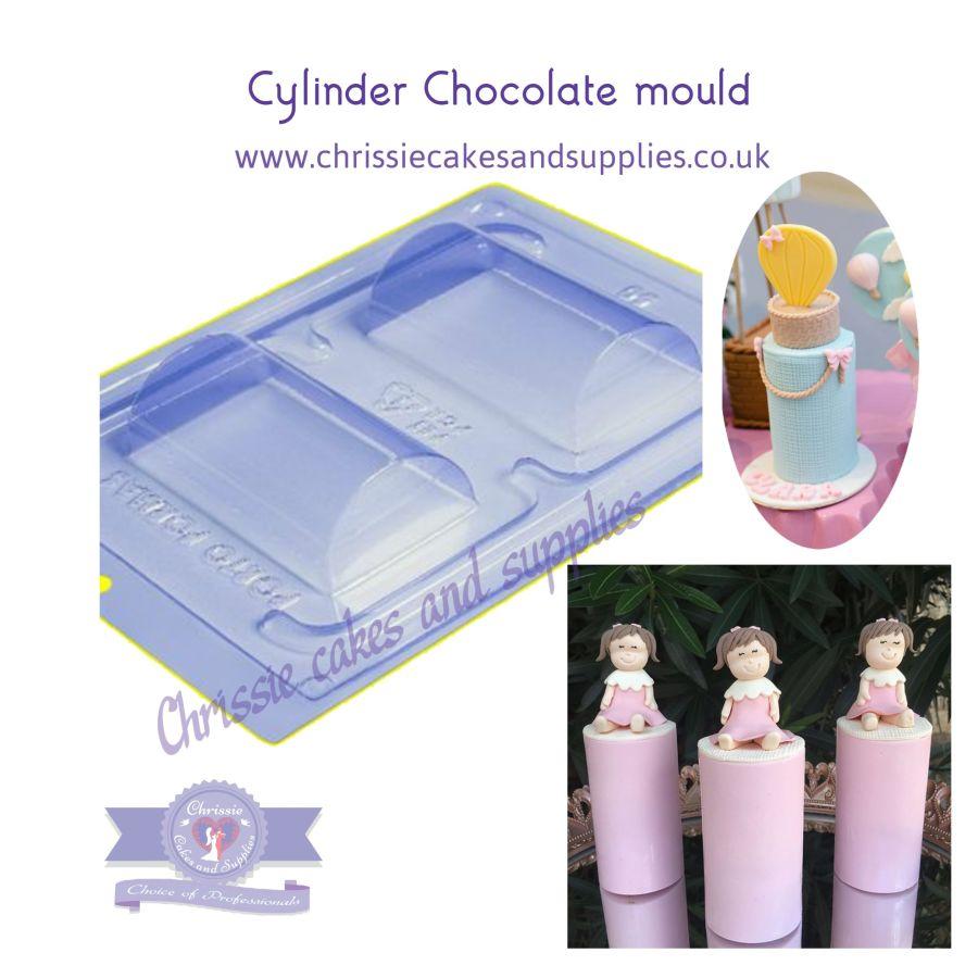 Cylinder chocolate mould pfm 50