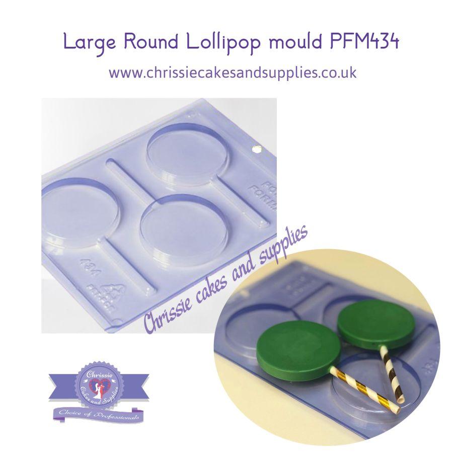 Large Round Lollipop mould PFM434