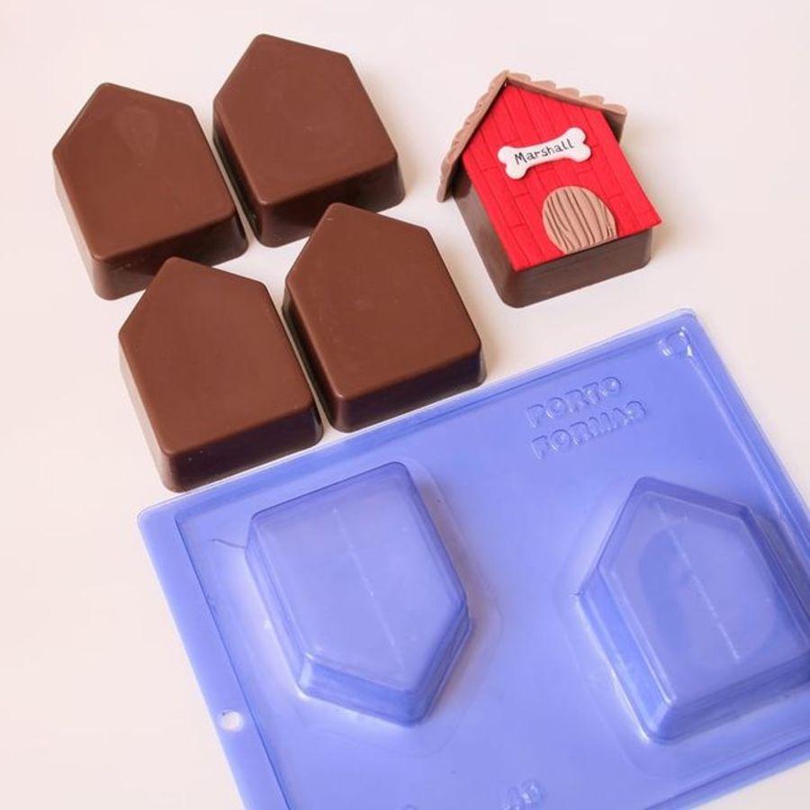 Chocolate House Mould - PFM 49 - HONEY BREAD CASINHA
