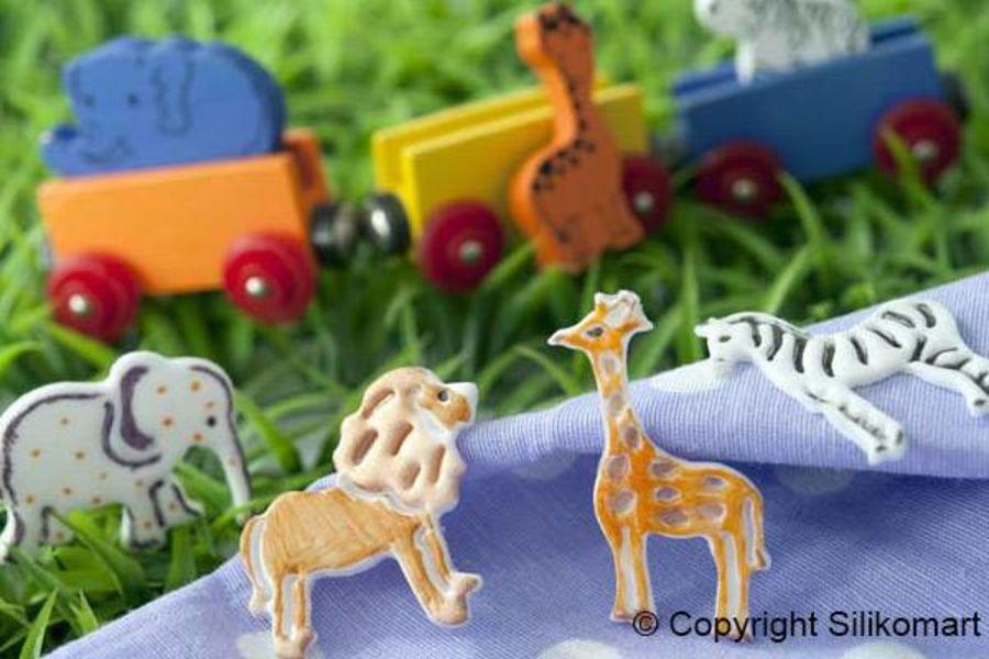 MINI COOKIE CUTTER ANIMALS - BABY CUTTER