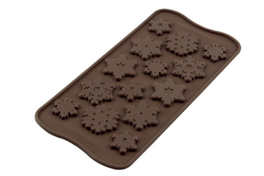 Frozen Snowflakes Chocolate mould - SIlkomart