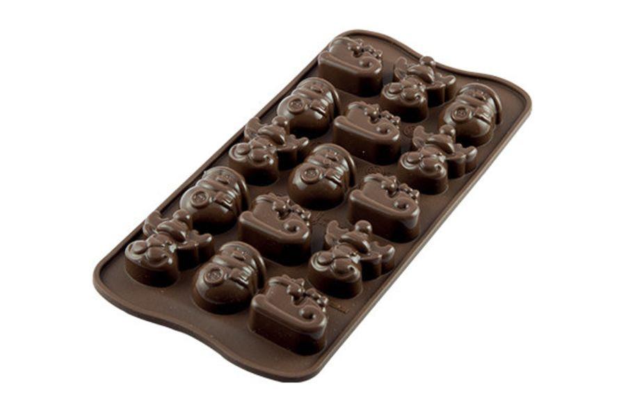 Christmas themed Choco Mould - SIlkomart