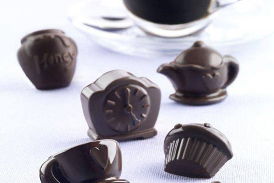 TEATIME Chocolate mould - Silkomart