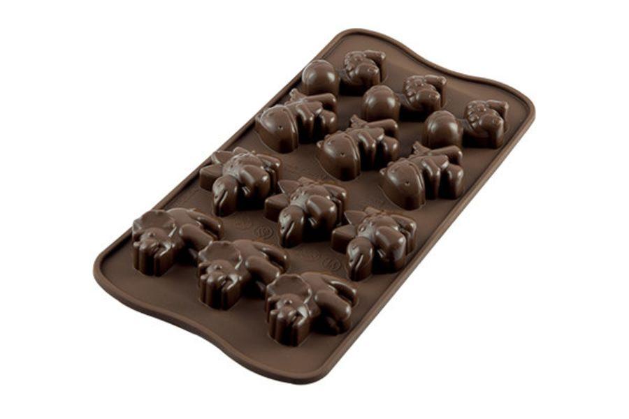 DINO Chocolate mould - SIlkomart