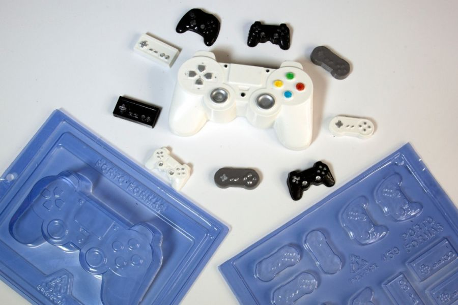 Playstation Game controller Chocolate mould Pfm69