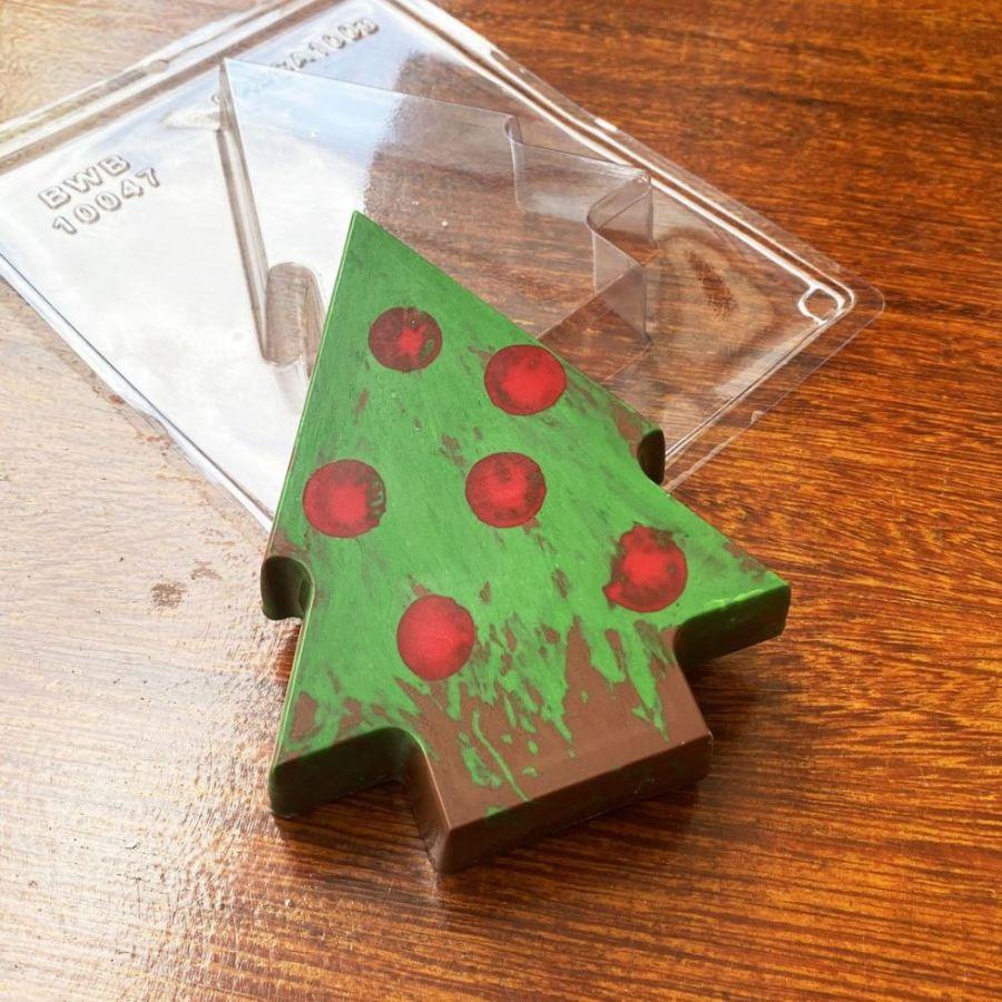 Pinata Stuffing Christmas Tree - BWB10047 - 3 part mould chocolate