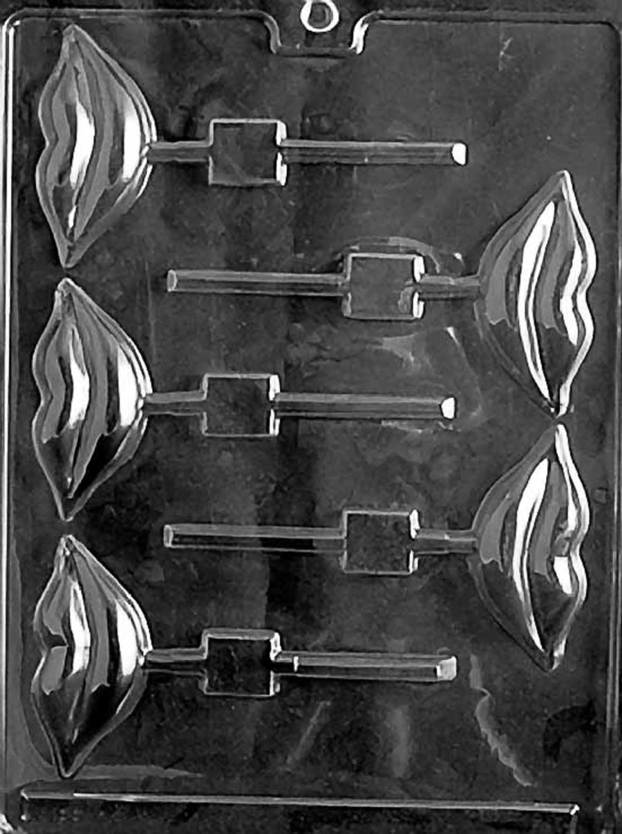 LIPS LOLLY Chocolate mould - V038