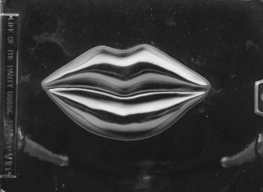 Large Lips Chocolate Mould V103