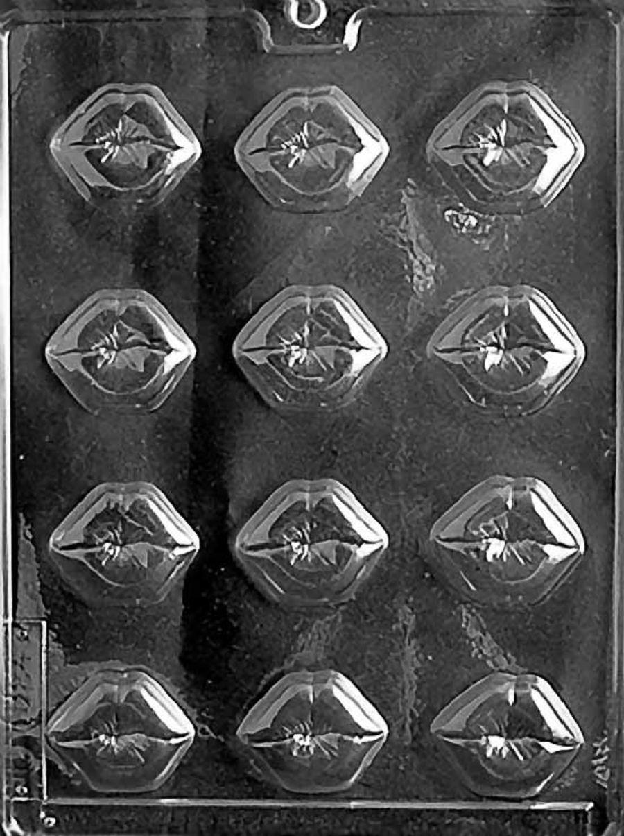 B.S. SMOOCH LIPS Chocolate mould V052