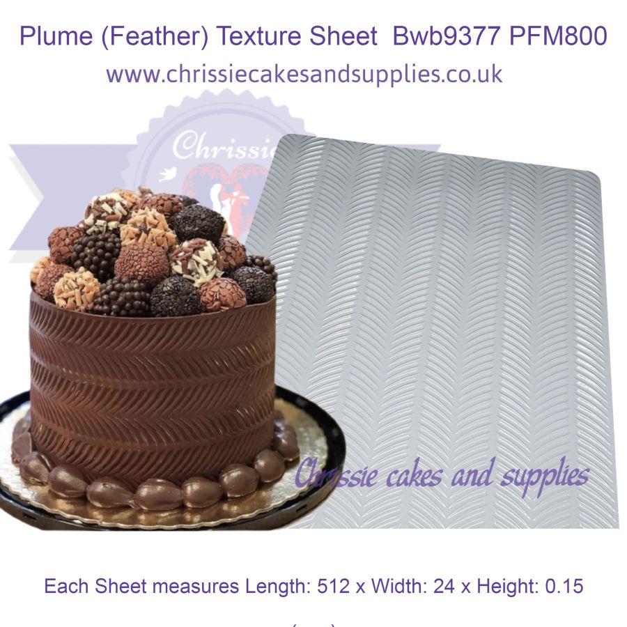 Plume (Feather) Texture Sheet Bwb9377 PFM800