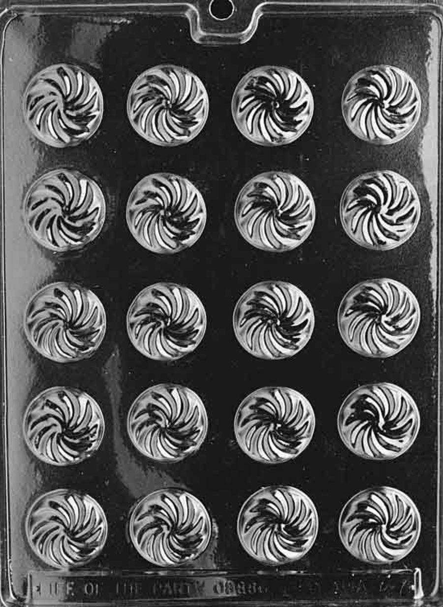 SWIRL MINTS chocolate mould