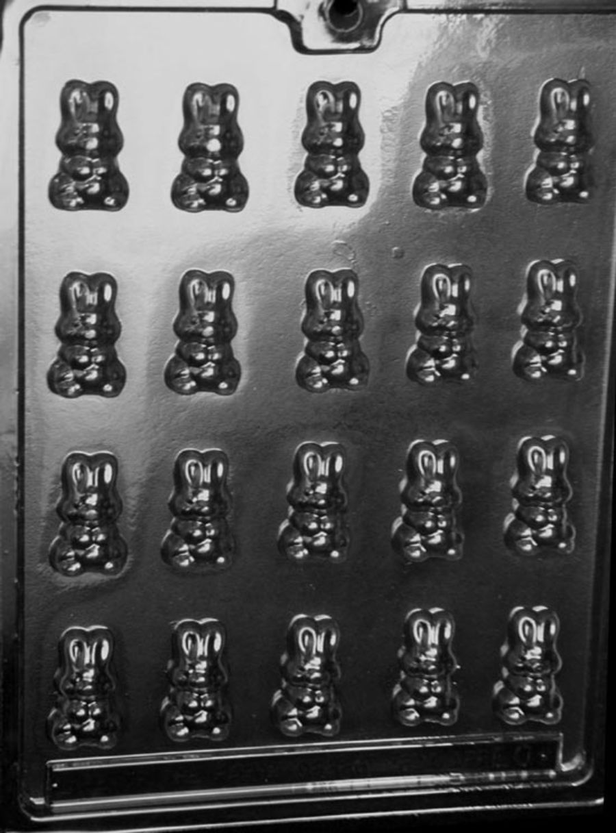 E000 B/S BUNNIES Chocolate mould- 20 cavity