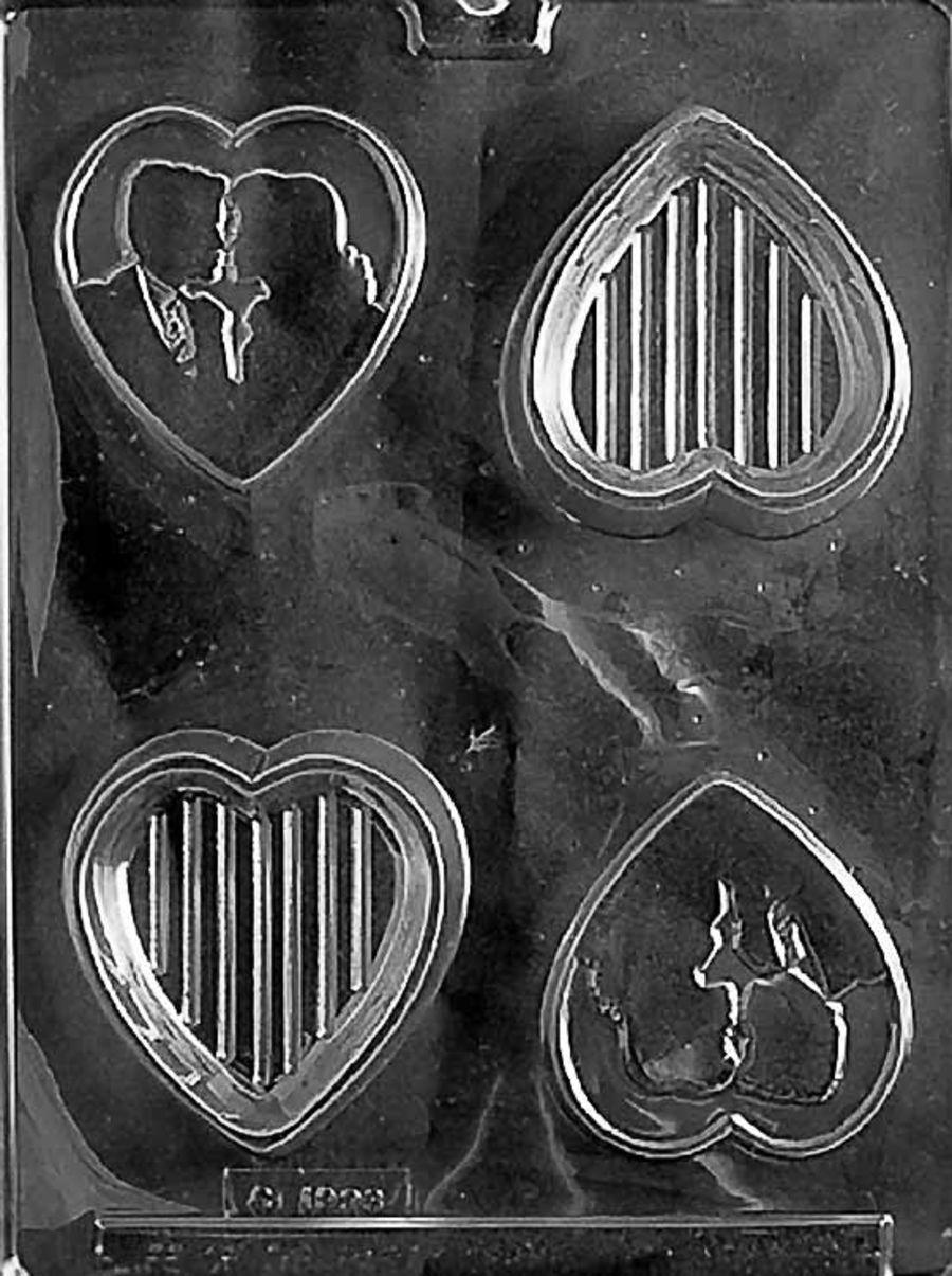 SILHOUETTE LOVER HEART POUR BOX W048 - Small